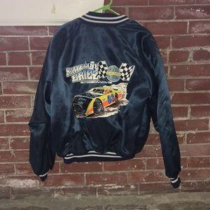 Vintage speedway satin jacket